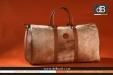 "dB Cowskin bag   Kuhfell Handtaschen   sac en peau   bolso de pelo: WEEKENDER ""cognac"" with brandmark from 950 Euro"
