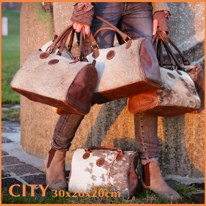 dB CowskinBags: CITY (handbag)